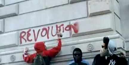 Британские студенты устроили анархию в центре Лондона