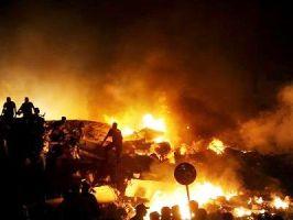 В Карачи разбился Ил-76 - из 8 погибших 7 украинцев