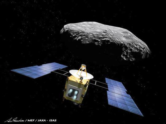 Японский зонд Хаябуса доставил на Землю грунт с астероида Итокава