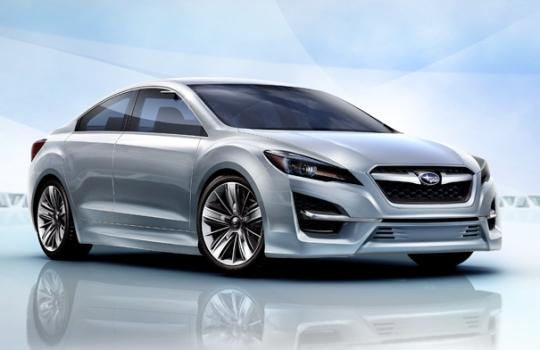 Subaru презентовала первую концепцию новой стратегии Impreza Design Concept