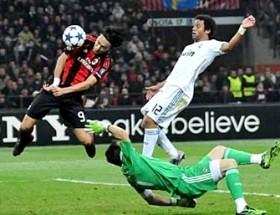 Милан сыграл вничью с Реалом 2:2