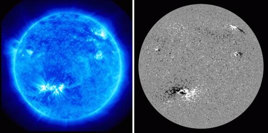 Завершился мощный всплеск солнечной активности 2010 года