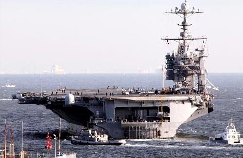 США и Южная Корея ведут военные учения в Желтом море