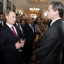 Владимир Путин назвал Леонардо Ди Каприо настоящим мужиком