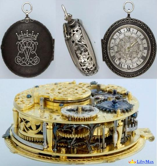 Часы Antique 17-го века выставили на James list