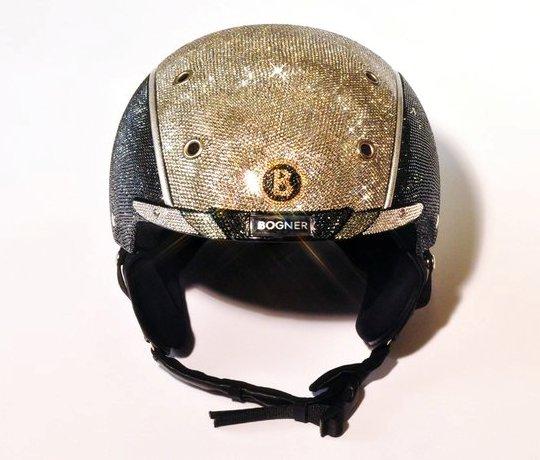 CRYSTOGRAPH презентовал титановый шлем BOGNER с 20000 кристаллами SWAROVSKI