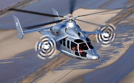 Скоростной вертолет Eurocopter Х3 потеснит Sikorsky X2