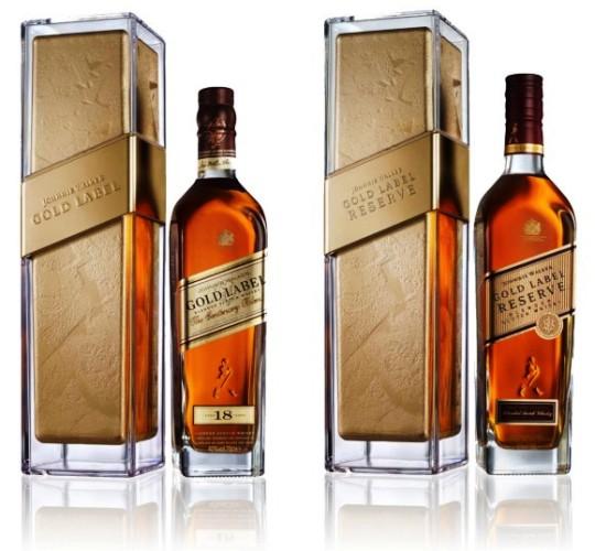 Johnnie Walker выпустил подарочный виски Gold Label