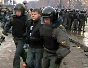 В Москве почтили смерть Егора Свиридова массовыми беспорядками