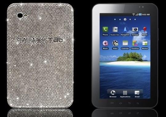 Выпущен новый планшетный компьютер Samsung Galaxy Tab Luxury Edition