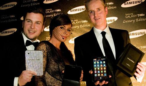 Samsung порадовал роскошным планшетом Crystal Galaxy Tab