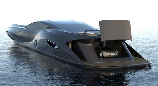 Летающая яхта Ekrano Yacht станет доступна в 2025 году