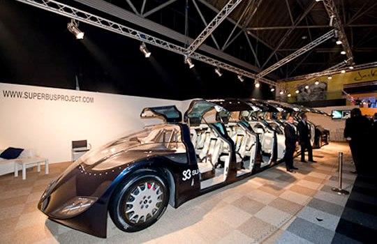На выставке Millionaire Fair презентовали Superbusбудущего
