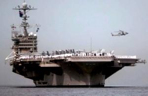 У берегов Японии ведутся американо-японские военные учения