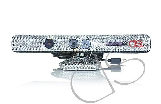Kinect для Xbox 360 украсили 5000 кристаллами Swarovski