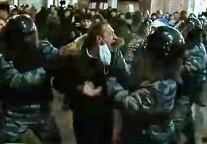 В Москве задержано более 1300 демонстрантов