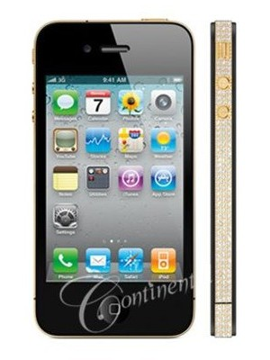 Continental Mobiles облачил iPhone 4 в золото и бриллианты
