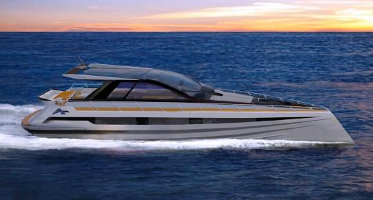 Atlantic Sea Hawk - экологичная яхта-круизер