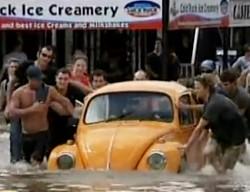 Библейский потоп начинает отпускать Австралию