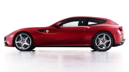Ferrari представил революционный суперкар Ferrari FF