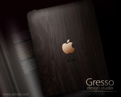 Gresso презентовала люксовый IPad Gresso из африканского дерева