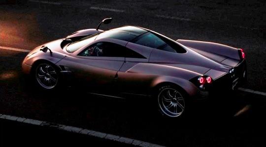 Суперкар Pagani Huayra - итог концепции Zonda C9