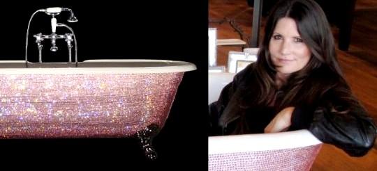 Лори Гарднер представила ванну Diamond с кристаллами Swarovski