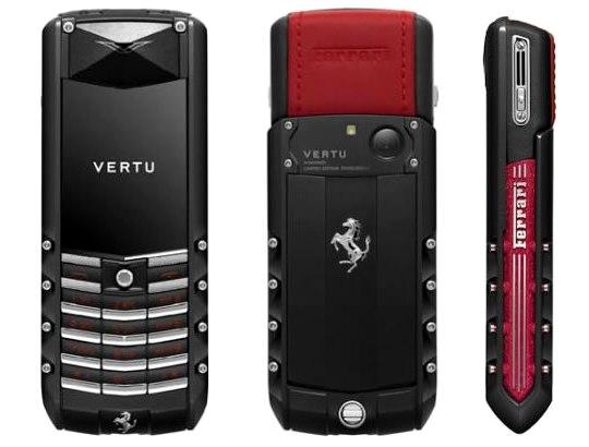 Vertu лимитировал Ascent Ferrari GT до 2011 штук