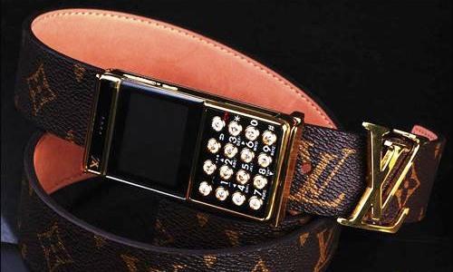Мобильный телефон Louis Vuitton прибыл из Китая