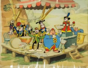 Анимация Walt Disney Pictures выставлена на аукцион