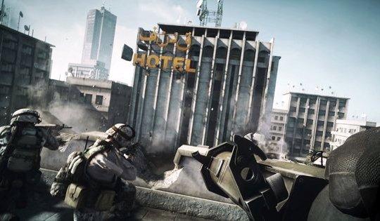 Battlefield 3 показал первый видеоролик игрового режима