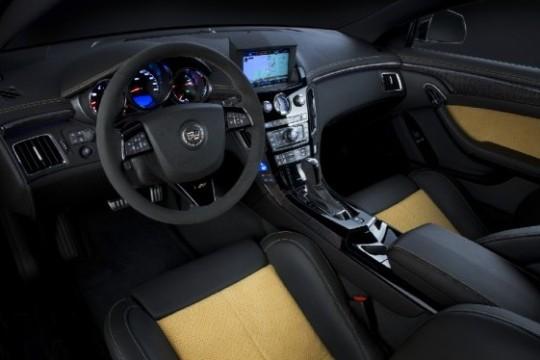 Cadillac презентовал люксовый седан CTS-V Black Diamond Edition