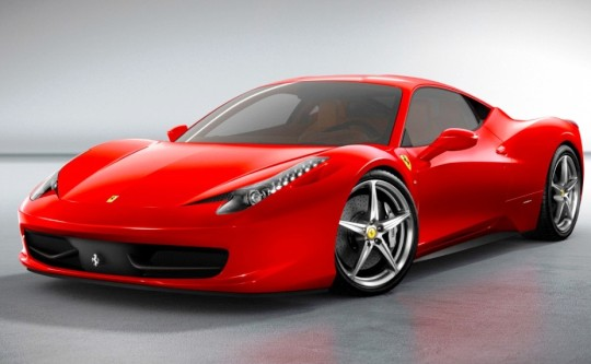 Суперкар Ferrari 458 Italia стал автомобилем года