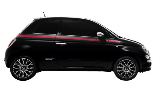В честь 150-летия объединения Италии презентовали хэтчбек Fiat 500 by Gucci