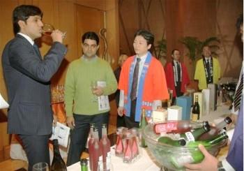 В Индии организовали выставку японского саке