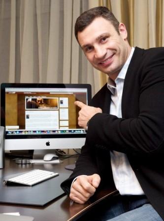 Виталий Кличко завел блог в ЖЖ (LiveJournal)