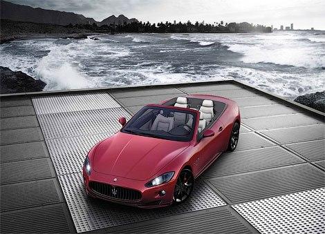 Роскошный кабриолет Maserati GranCabrio Sport обновился для Женевы