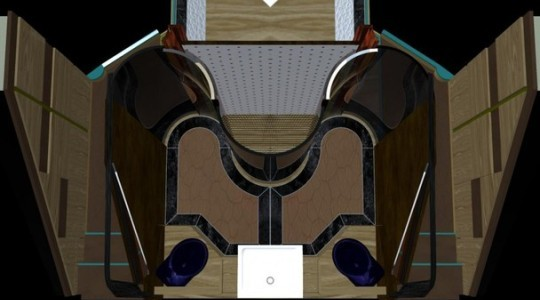 Элегантная яхта DIAMOND 44 от Мауро Леччи