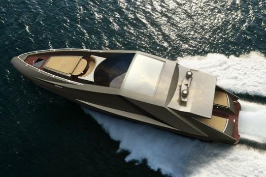 Люксовая яхта Lamborghini от Mauro Lecchi и Fenice Milano