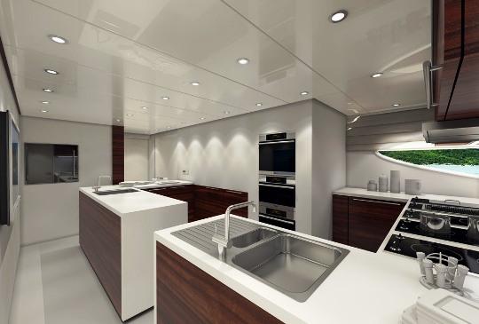 Vicem Yachts презентовала 3 суперяхты из коллекции Vulcan Line