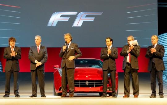 Мировая премьера суперкара Ferrari FF