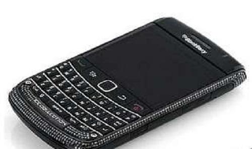 Люксовый телефон IceLink Bold 9700 от BlackBerry