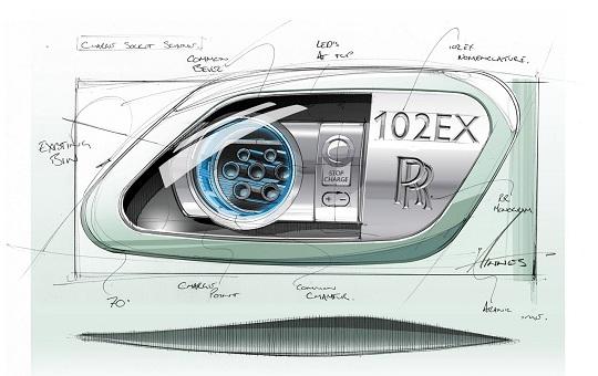 Rolls-Royce представит свой первый электромобиль Phantom 102EX