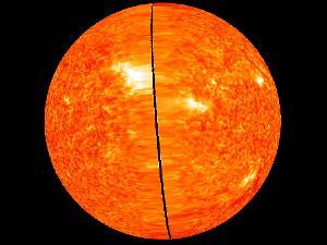 Человечеству показали Солнце в 3D