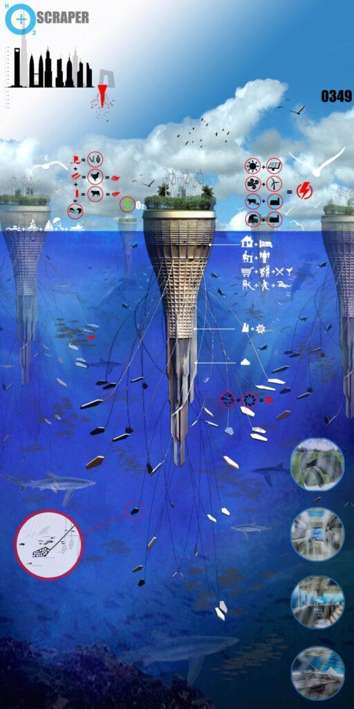 Подводный небоскреб будущего hO2+