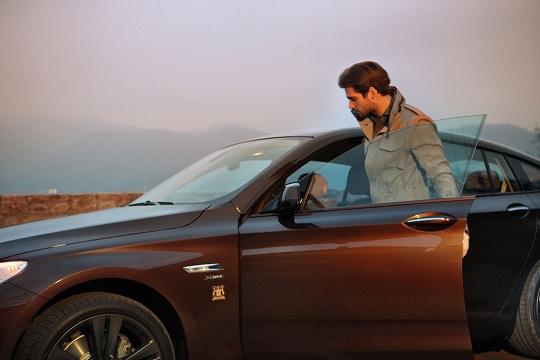 Роскошный BMW 5 Series GT Trussardi