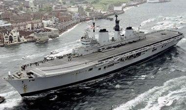 Британский авианосец Ark Royal выставлен на аукцион