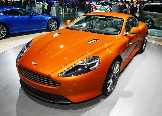 Британцы представили в Женеве Aston Martin Virage