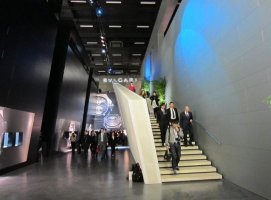 BASELWORLD 2011 - лучшие выставочные залы