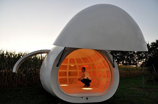 Мобильный офис-яйцо BLOB vB3